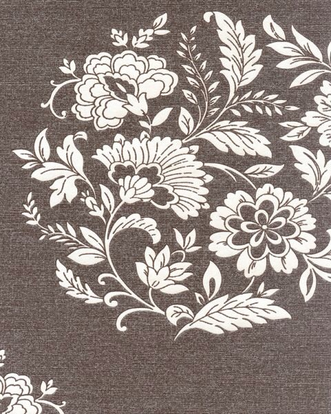 PLATINUM VELDE BROWN FLORAL MOTIF