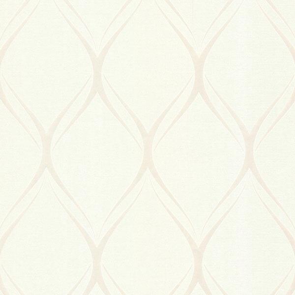 PLATINUM GUSTAV WHITE GEOMETRIC