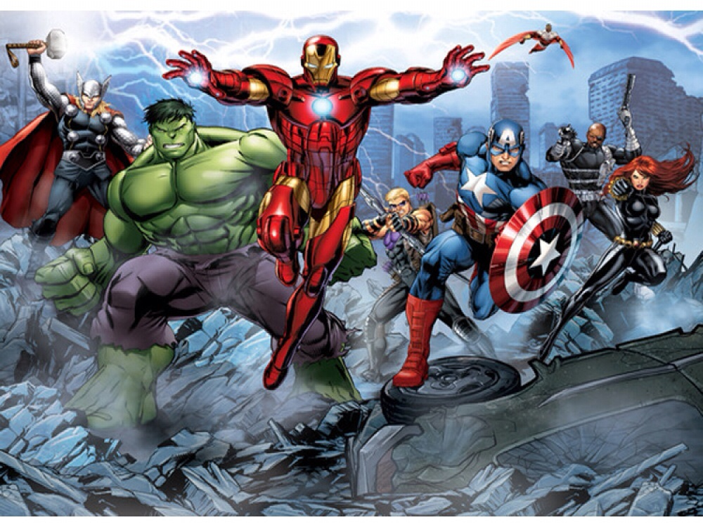 Sarah interiors collection of latest wallpapers mirrors for Avengers wallpaper mural