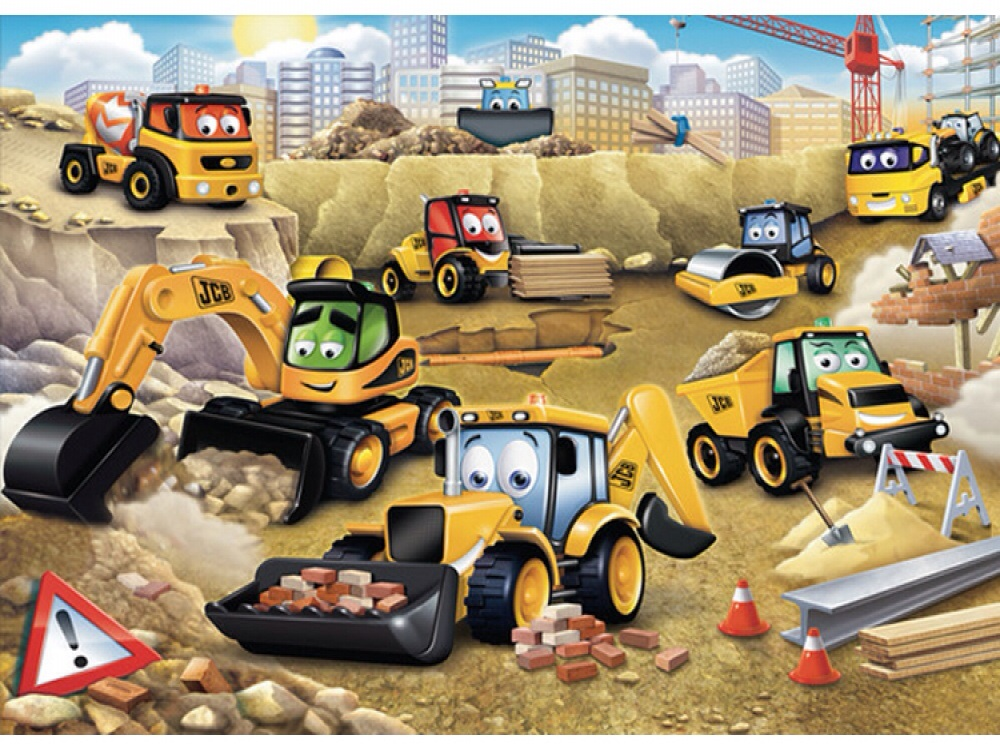 MY 1ST JCB WALLPAPER MURAL