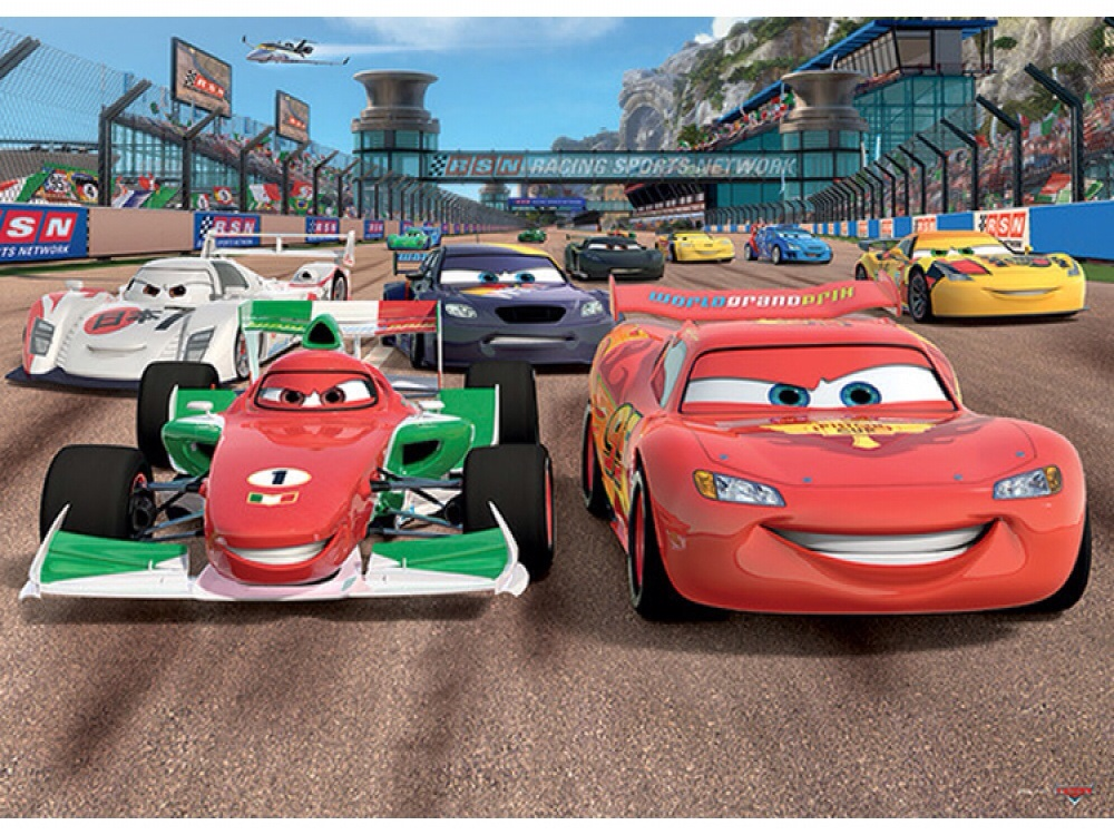 Sarahs Wallpaper Interiors Disney Pixar Cars Wallpaper Mural