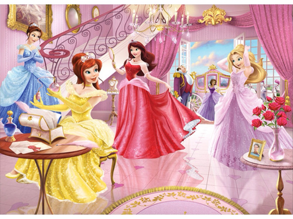 FAIRY PRINCESS WALLPAPER MURAL