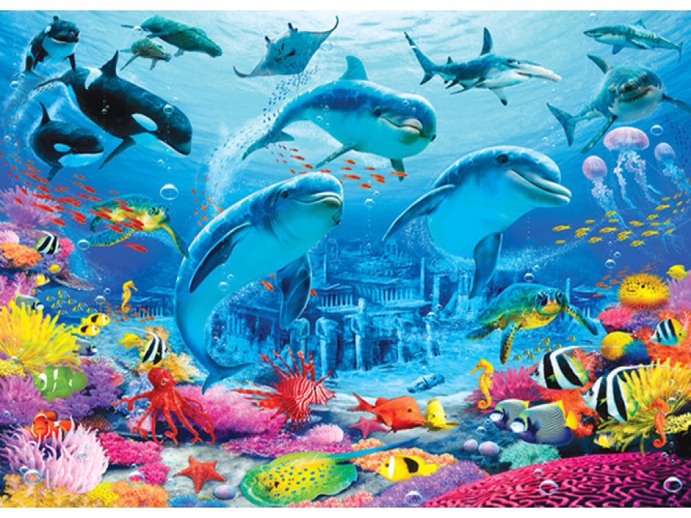 SEA ADVENTURE WALLPAPER MURAL