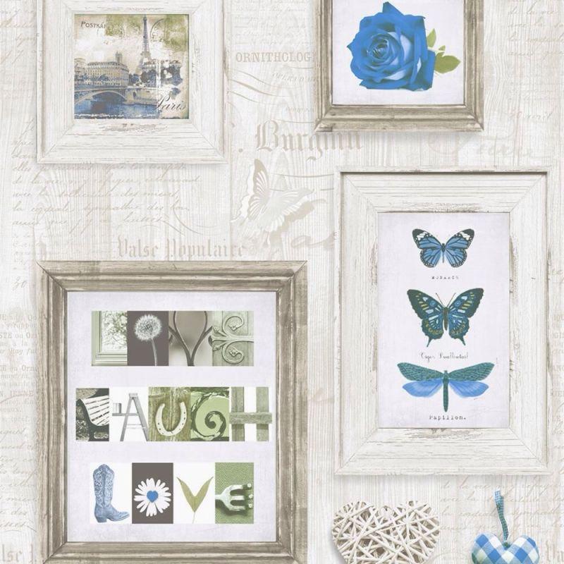 LIVE LAUGH LOVE BLUE