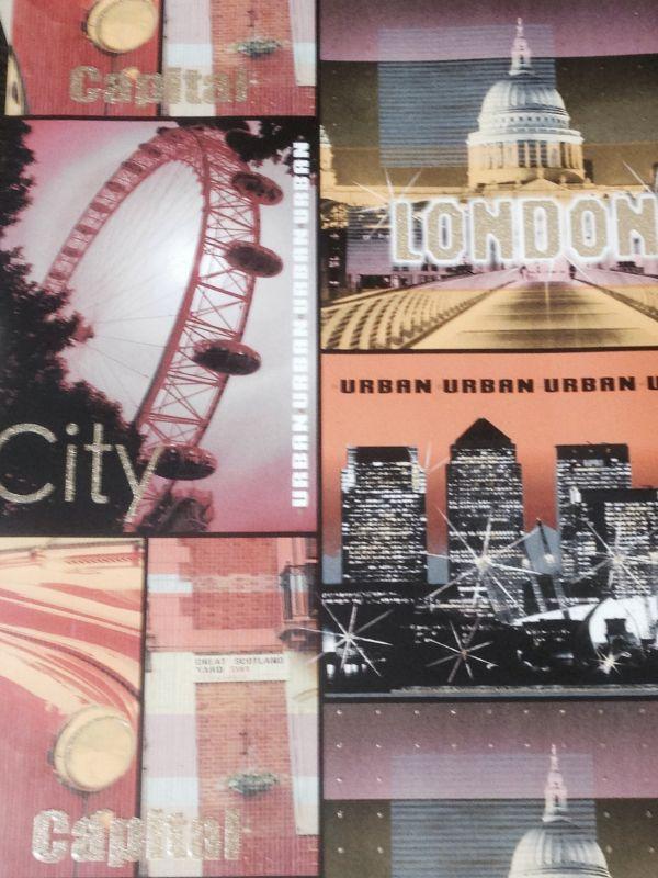 GLITTER LONDON MULTI