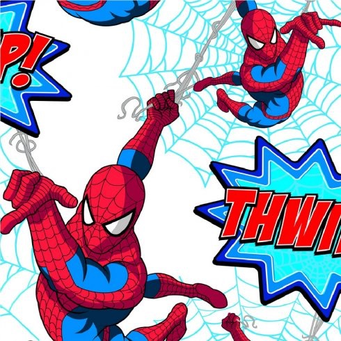 MARVEL COMICS SPIDERMAN THWIPP! WALLPAPER