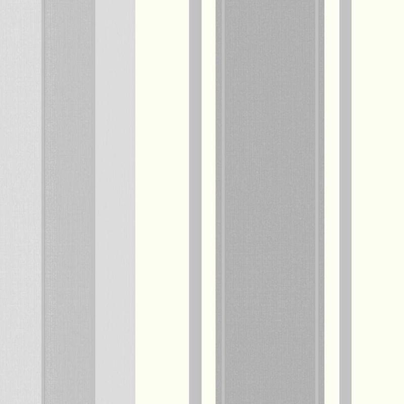 PALAZZO STRIPE WHITE PLATINUM