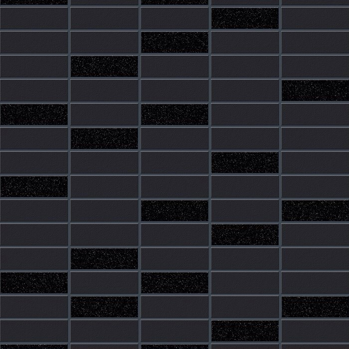 RIMINI TILE BLACK SPARKLE WALLPAPER