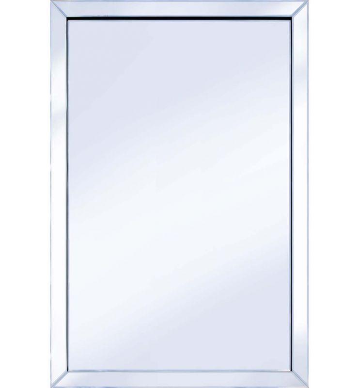 CLASSIC MITRE EDGE MIRROR SILVER 120X80