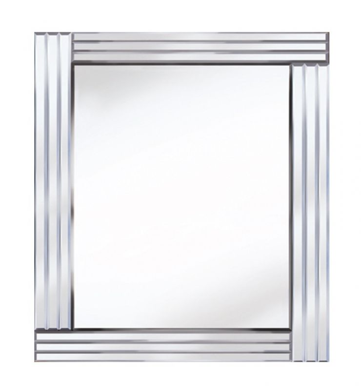 CLASSIC TRIPLE BAR MIRROR SILVER 60X80