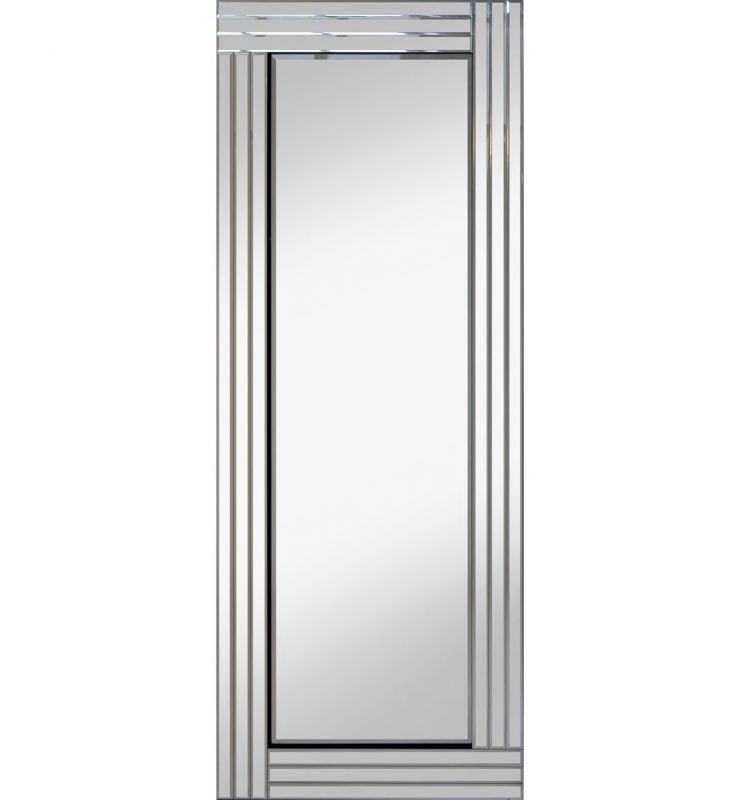 CLASSIC TRIPLE BAR MIRROR SILVER 40X120