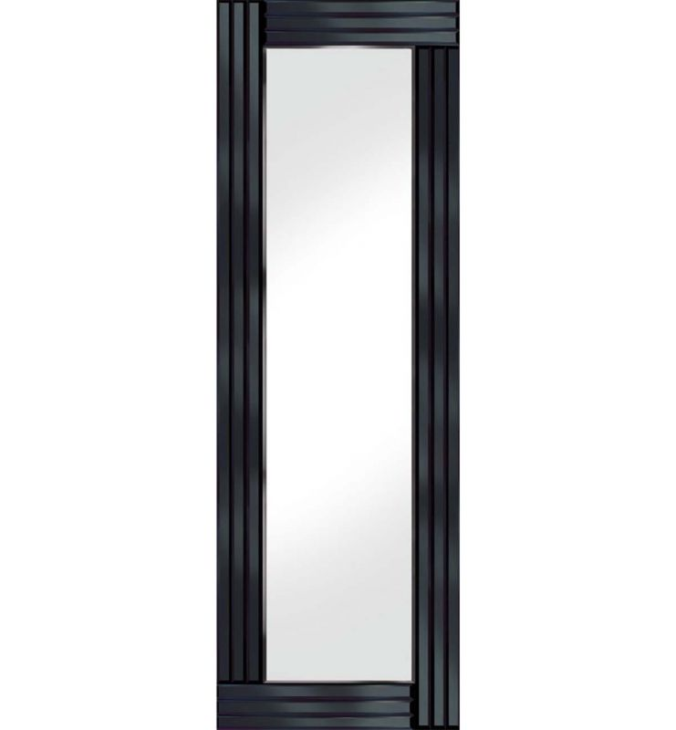 CLASSIC TRIPLE BAR MIRROR BLACK 40X120