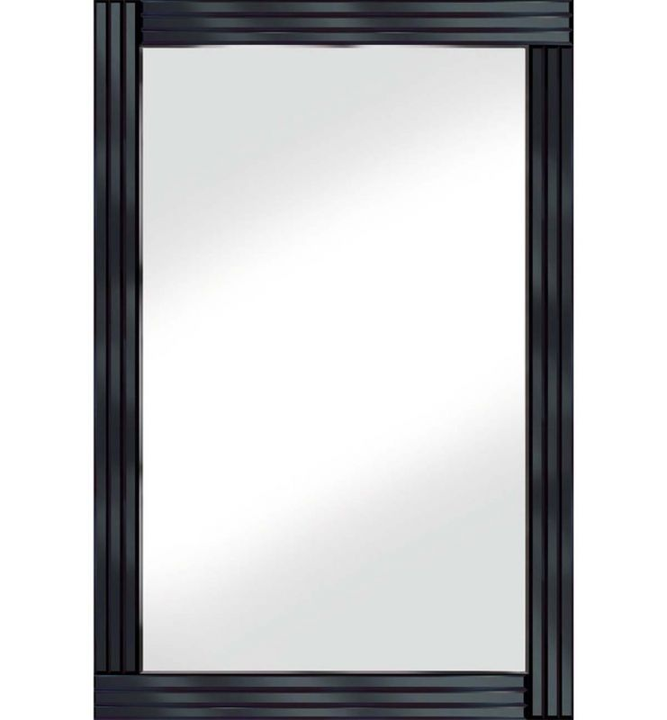 CLASSIC TRIPLE BAR MIRROR BLACK 120X80