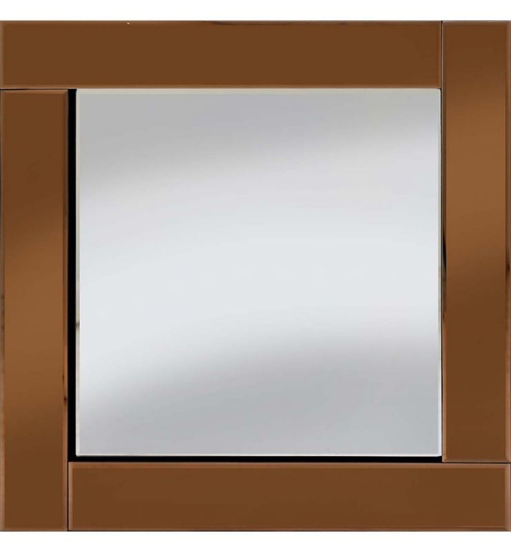 CLASSIC FLAT BAR MIRROR BRONZE 60X60