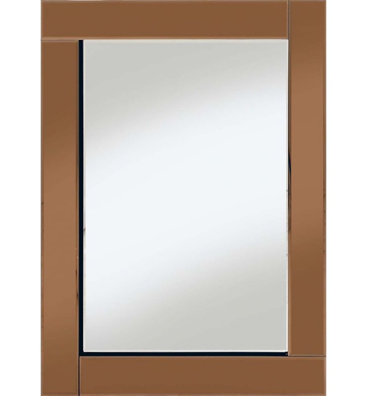 CLASSIC FLAT BAR MIRROR BRONZE 60X80CM
