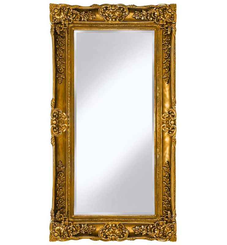 PMR SCROLL MIRROR GOLD 89X169CM