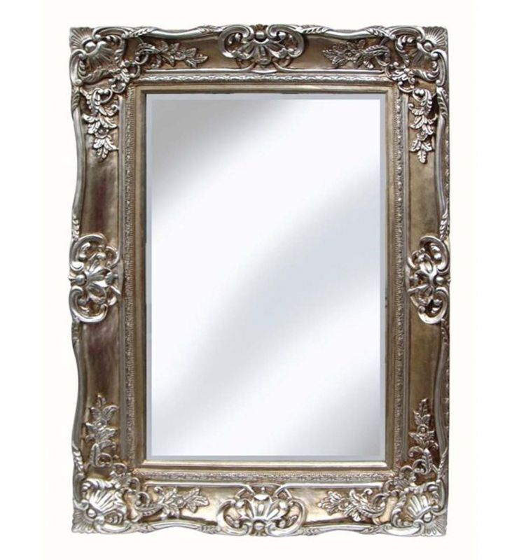PMR SCROLL MIRROR CHAMPAGNE 89X119