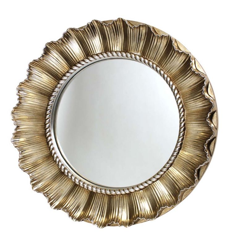 PMR COUNTRY ROSE MIRROR CHAMPAGNE 83X83