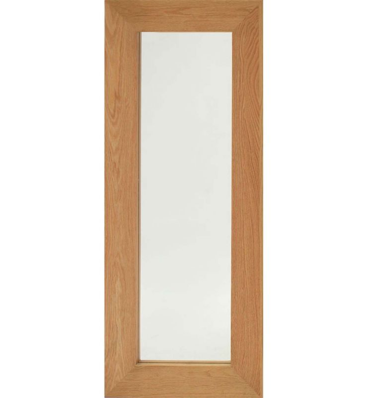 WOOD CHUNKY NATURAL MIRROR OAK 50X120