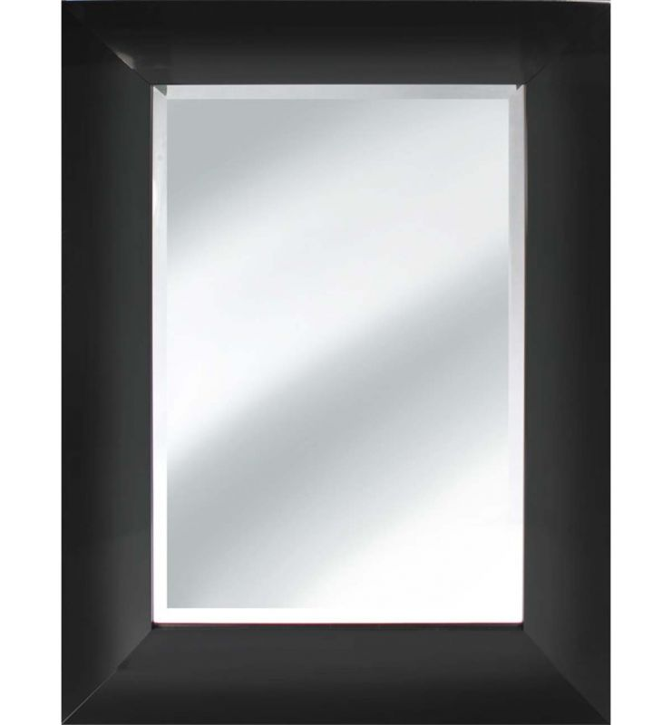 CONTEMPORARY VINTAGE MIRROR BLACK 120X50