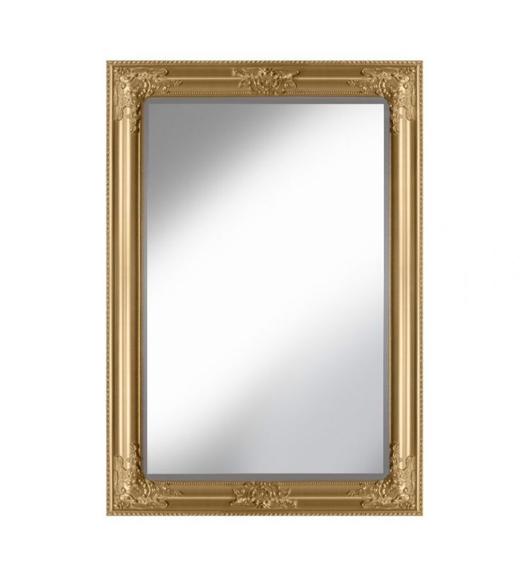 ROCCO OVERMANTLE MIRROR GOLD