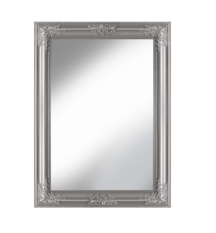 ROCCO OVERMANTLE MIRROR SILVER