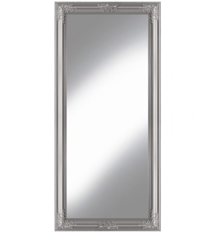 ROCCO LARGE WALL MIRROR SILVER