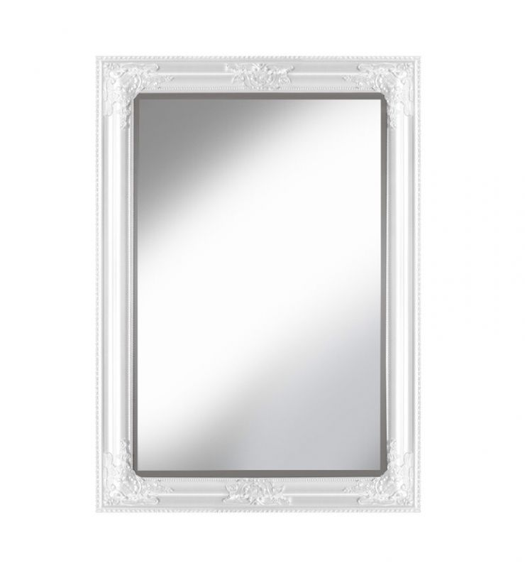 ROCCO OVERMANTLE MIRROR WHITE