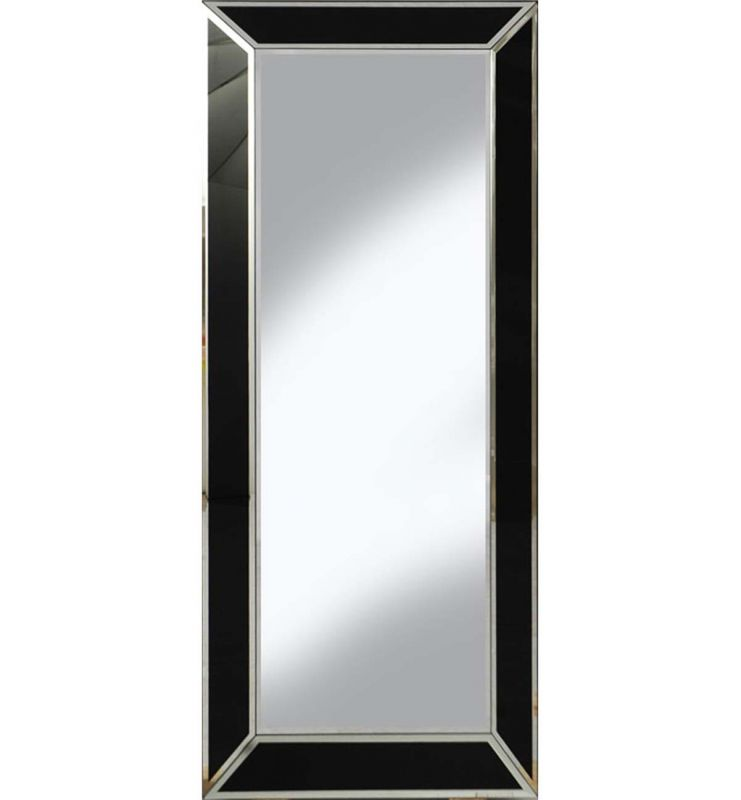ANGULAR MIRROR BLACK/SILVER LINING