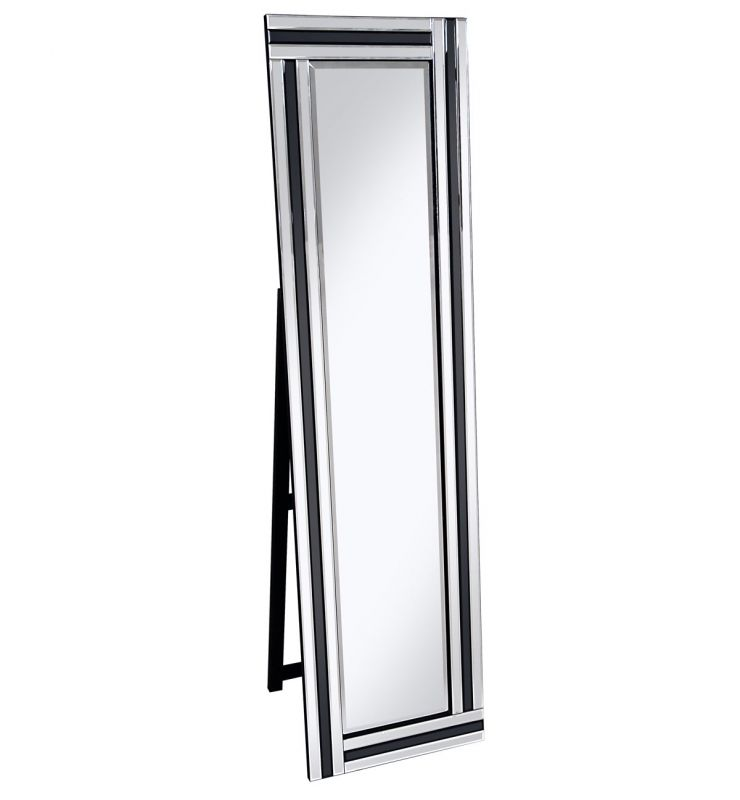 PO918 BLACK CHEVAL MIRROR