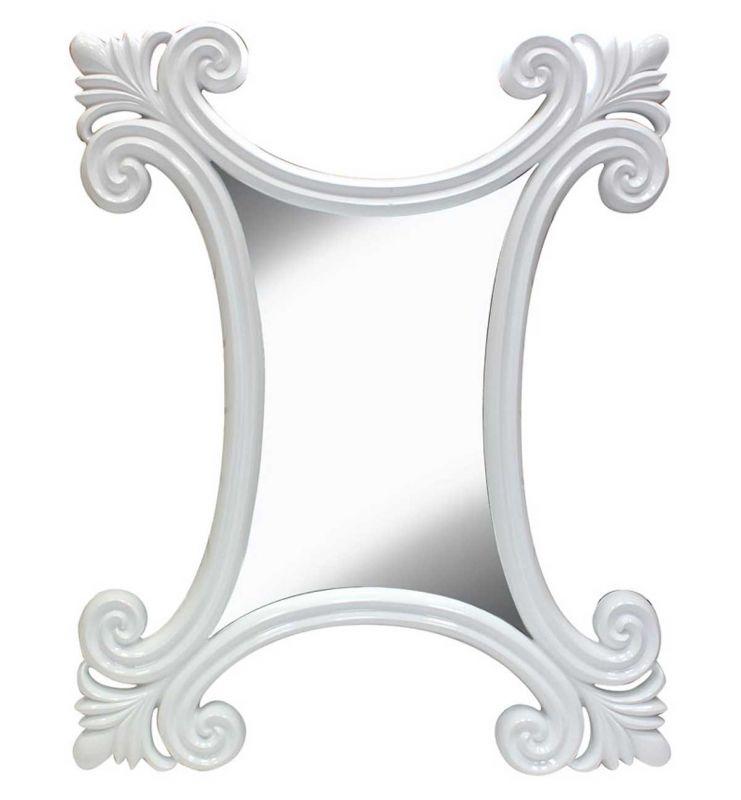 PU ALINA MIRROR WHITE 90X111