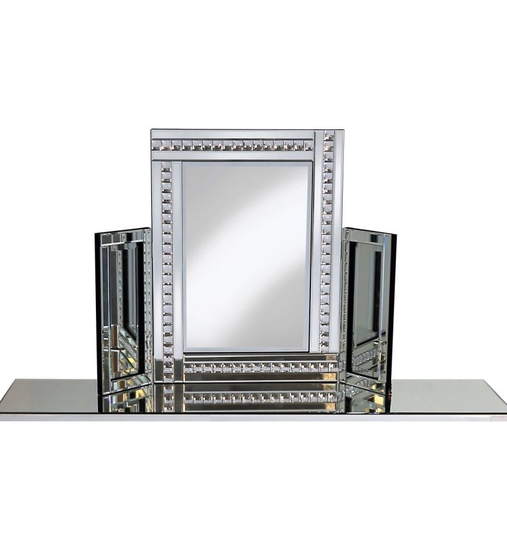 PO918 CRYSTAL DRESSING TABLE MIRROR