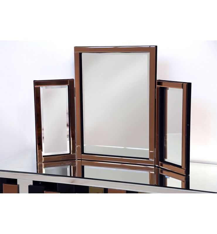 DRESSING TABLE MIRROR BRONZE 78X54