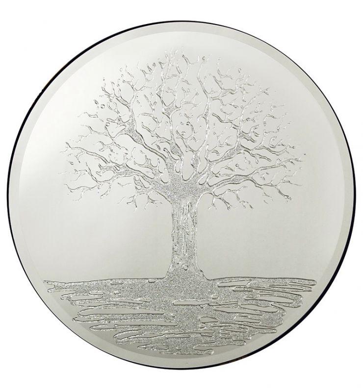GLITTER TREE 100CM ROUND