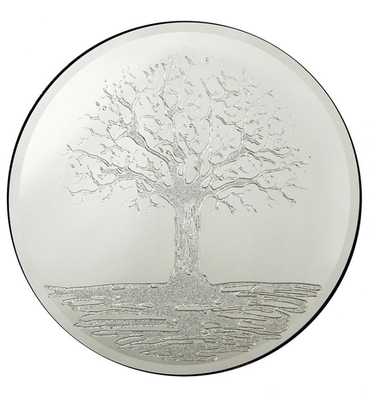 GLITTER TREE 70CM ROUND
