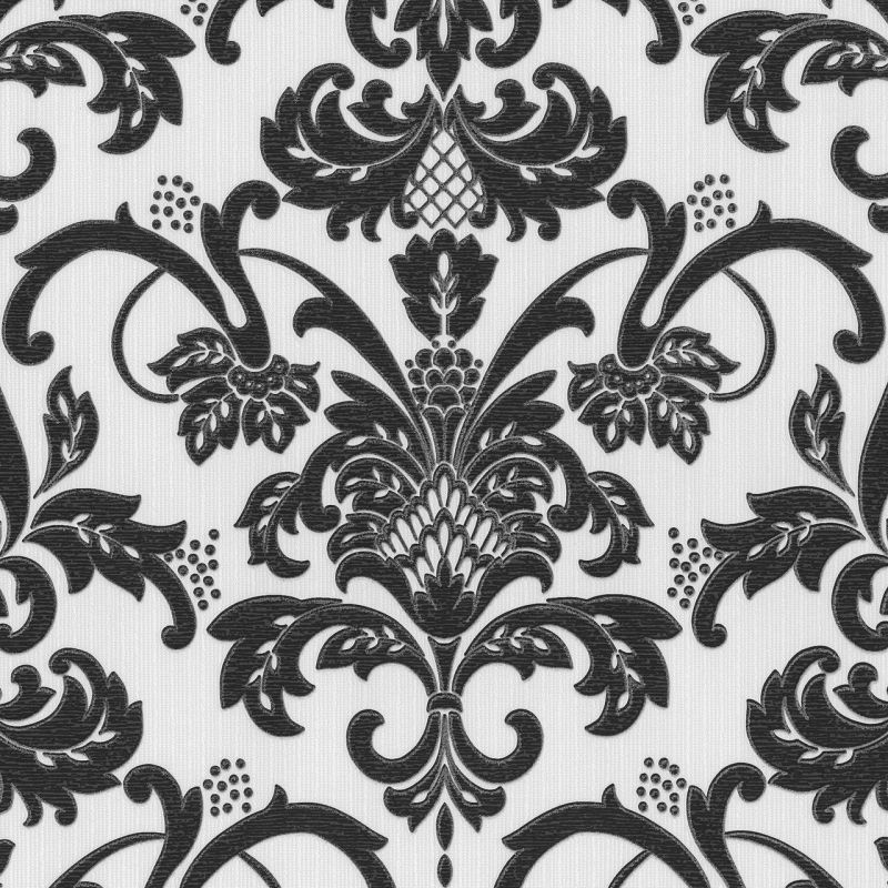 CLAREMONT ORNAMENTAL BLACK/WHITE