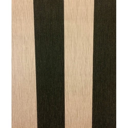 CRYSTAL STRIPE BLACK / TAUPE